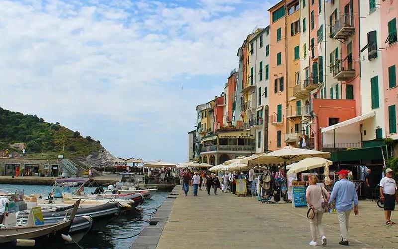 Porto de Portovenere, Itália (Foto: Esse Mundo É Nosso)