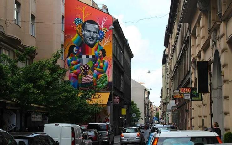 Bairro judeu de Budapeste (Foto: Esse Mundo é Nosso)