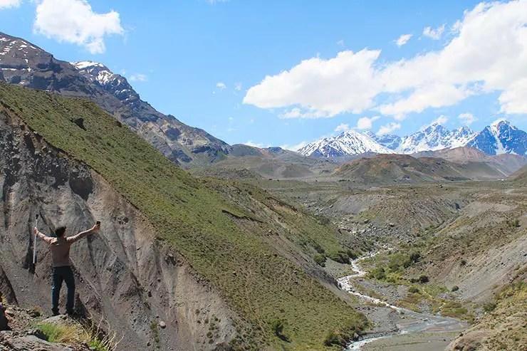 Embalse El Yeso em Cajón del Maipo, Chile (Foto: Esse Mundo É Nosso)
