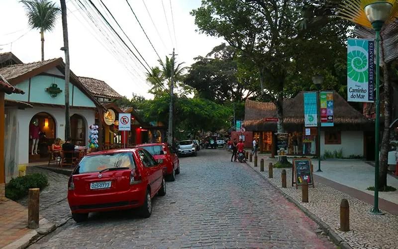 Arraial d'Ajuda ou Trancoso -  Rua do Mucugê