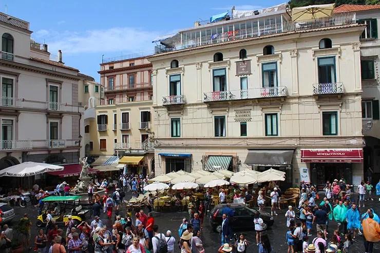 Roteiro pela Costa Amalfitana: Amalfi (Foto: Esse Mundo é Nosso)