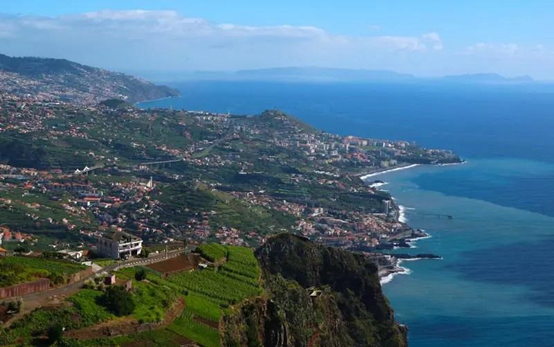 Cabo Girão, na Ilha da Madeira (Foto: Esse Mundo é Nosso)