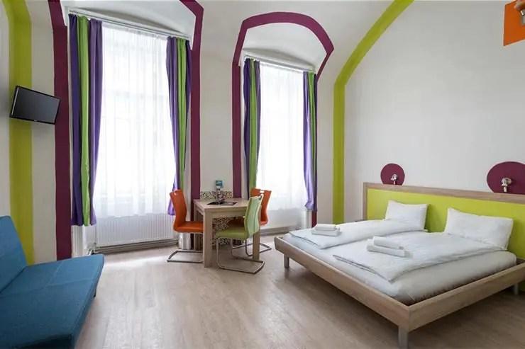 Onde ficar em Budapeste - Amber Gardenview Studio (Divulgação)