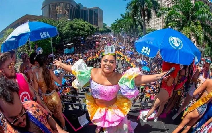 Blocos do Carnaval de São Paulo neste fim de semana (Foto: Reprodução/Facebook/Preta Gil)