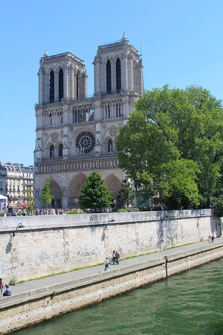 Catedral de Notre-Dame (Foto: Esse Mundo é Nosso)