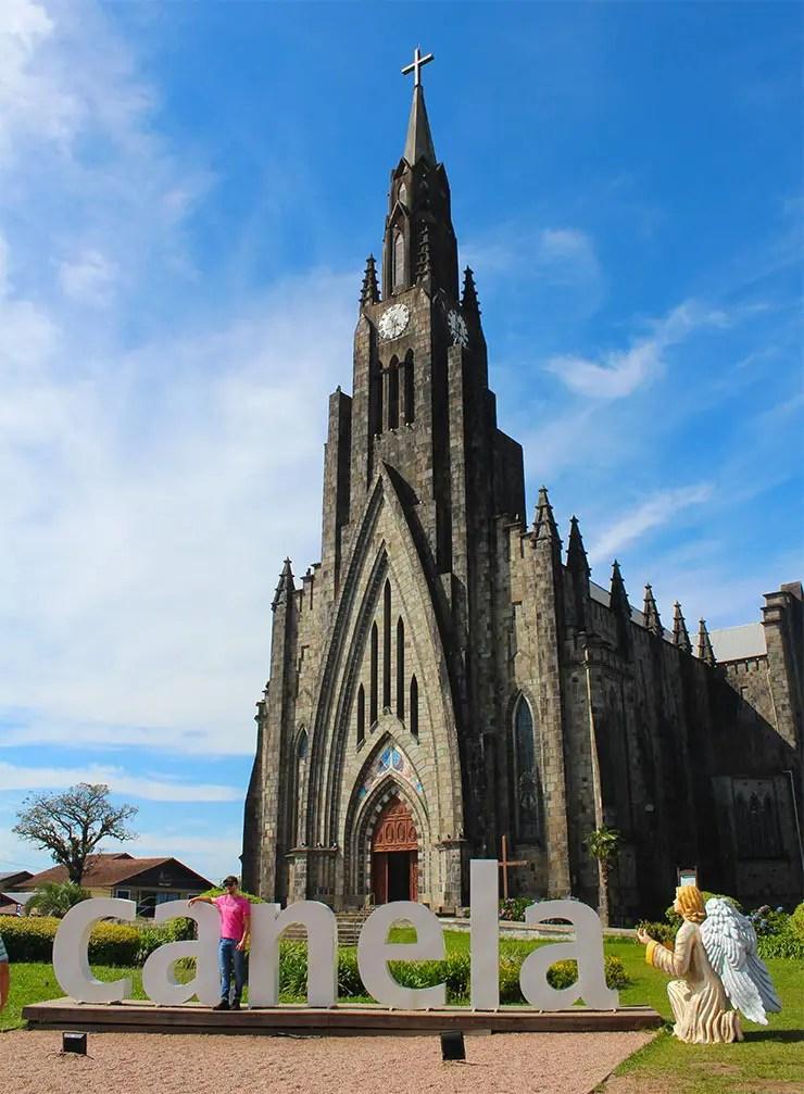 Catedral de Pedra, em Canela (Foto: Esse Mundo é Nosso)