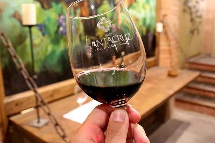 Vinícolas do Valle de Colchagua, Chile - Viña Santa Cruz (Foto: Esse Mundo É Nosso)