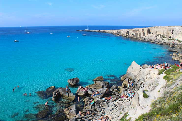 Melhores praias da Itália - Favignana (Foto: Esse Mundo é Nosso)