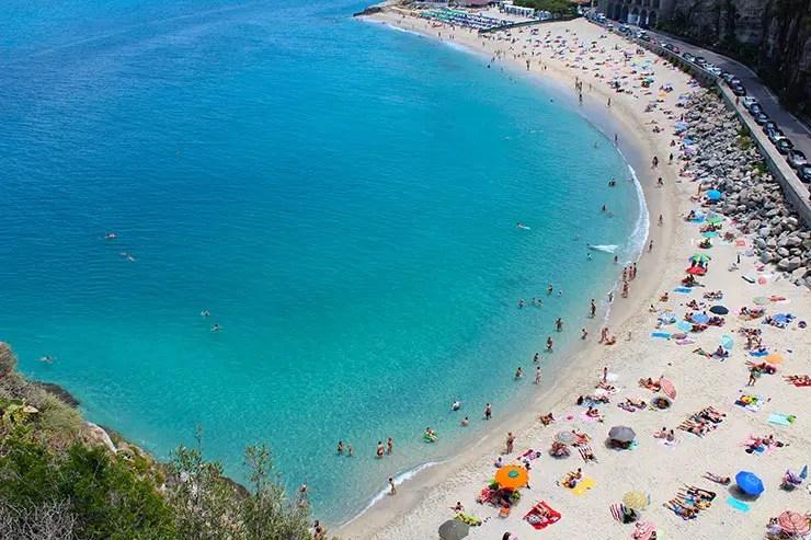 Melhores praias da Itália -Tropea (Foto: Esse Mundo é Nosso)