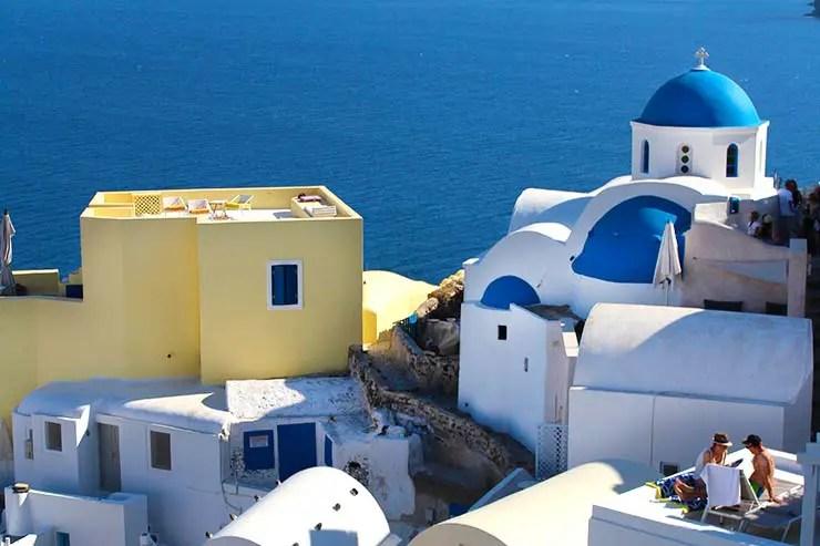 O que fazer em Santorini - Oia (Foto: Esse Mundo É Nosso)