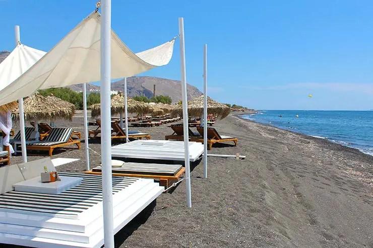 Praias Perivolos em Santorini (Foto: Esse Mundo É Nosso)