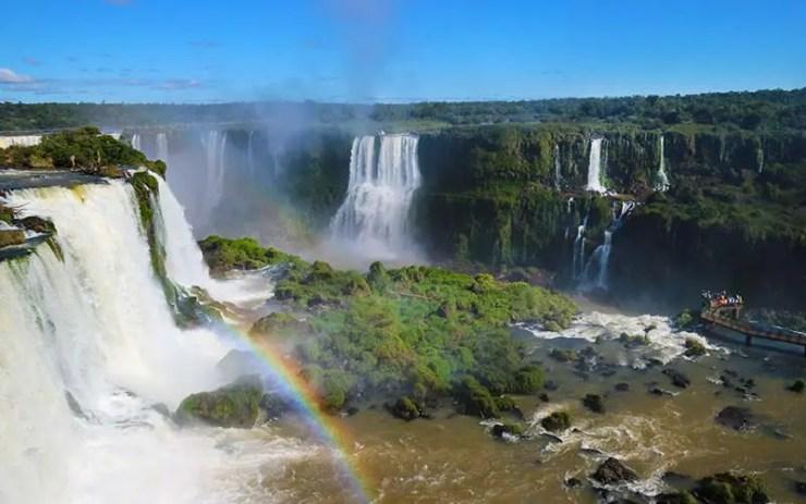 Quando ir pra Foz do Iguaçu - Cataratas do Iguaçu (Foto: Esse Mundo É Nosso)