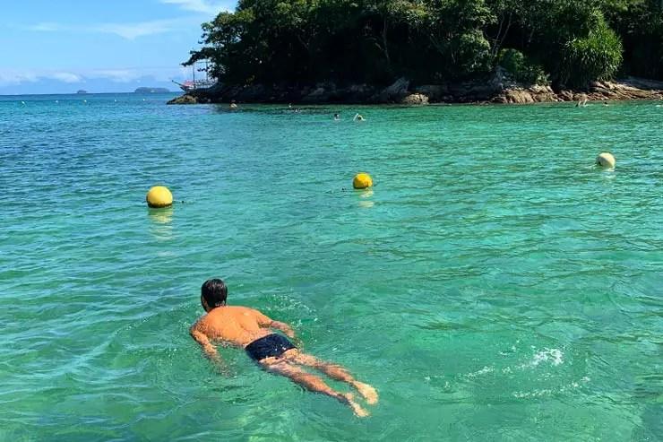 10 motivos para viajar pra Ilha Grande: Lagoa Azul (Foto: Esse Mundo é Nosso)