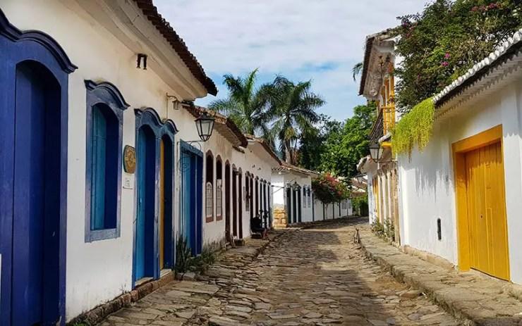 Ruas históricas - Quando ir pra Paraty (Foto: Esse Mundo É Nosso)