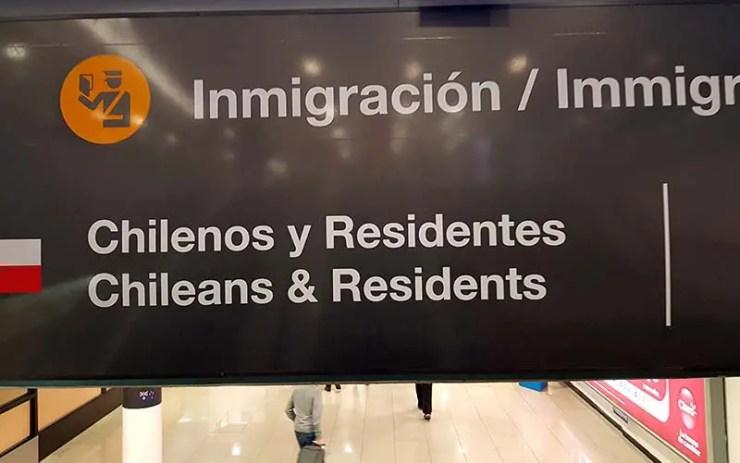 Imigração em Santiago, Chile (Foto: Esse Mundo É Nosso)