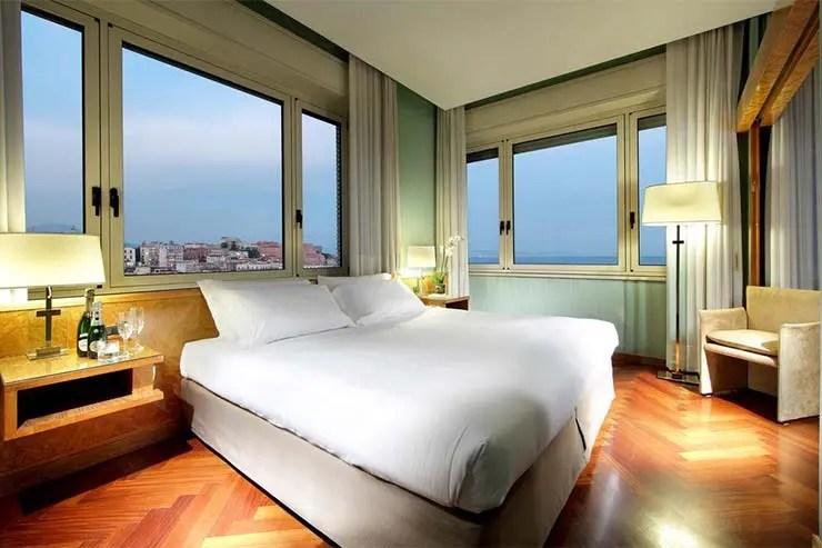 Hotel Exe Majestic em Nápoles (Foto: Divulgação/Booking)