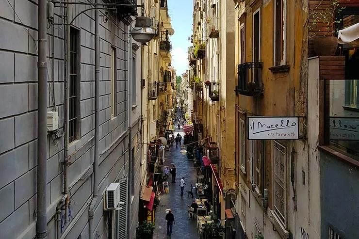 Nápoles, Itália (Foto: Esse Mundo É Nosso)