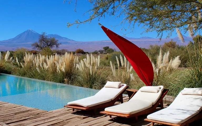 Piscina do Tierra Atacama (Foto: Esse Mundo É Nosso)