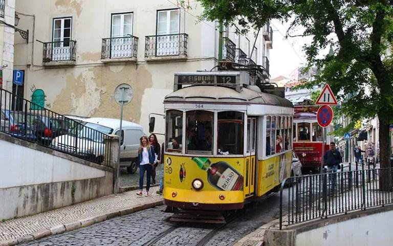Bonde em Lisboa - Quantos euros por dia em Portugal (Foto: Esse Mundo É Nosso)