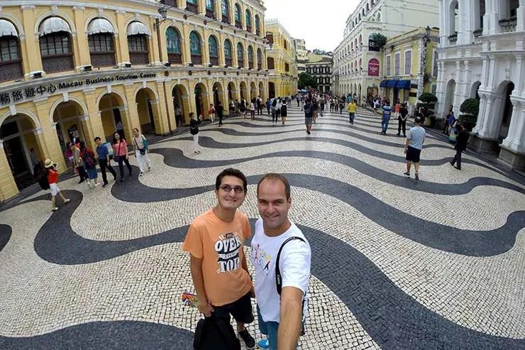 Centro Histórico de Macau (Foto: Esse Mundo É Nosso)