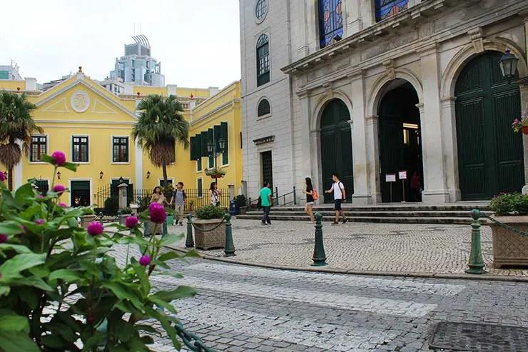 Largo da Sé em Macau (Foto: Esse Mundo É Nosso)