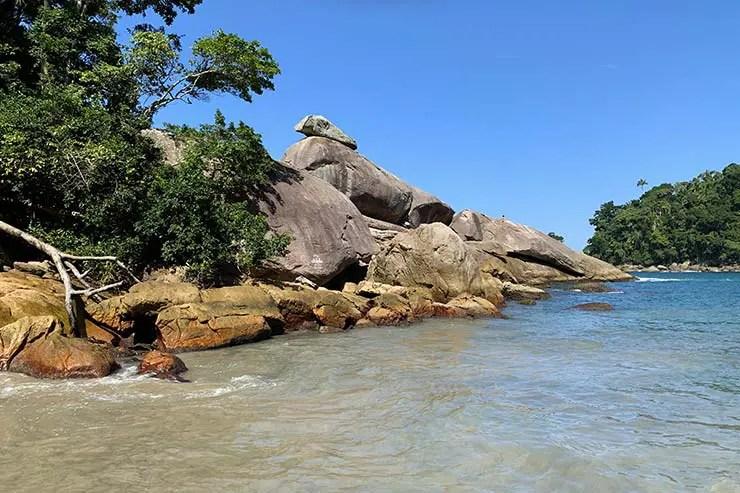 Pedra do Caxadaço em Ilha Grade (Foto: Esse Mundo É Nosso)