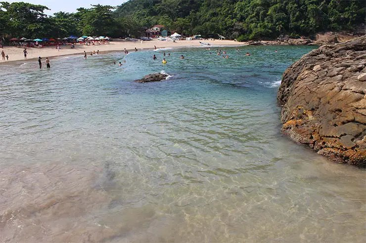 Praia do Meio em maio - Trindade, RJ - Gráfico de climatologia (Foto: Esse Mundo É Nosso)