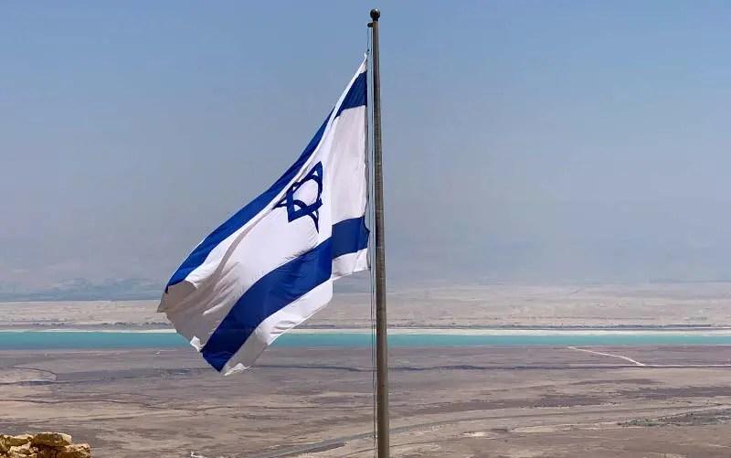 Mar Morto visto a partir da Fortaleza de Masada em Israel (Foto: Esse Mundo É Nosso)