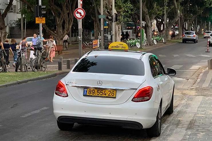 Táxi em Israel (Foto: Esse Mundo é Nosso)