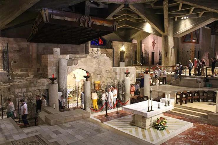 Basílica da Anunciação em Nazaré (Foto: Esse Mundo é Nosso)