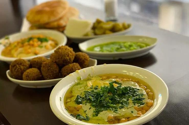 Restaurante Abu Hassan em Jerusalém (Foto: Esse Mundo é Nosso)