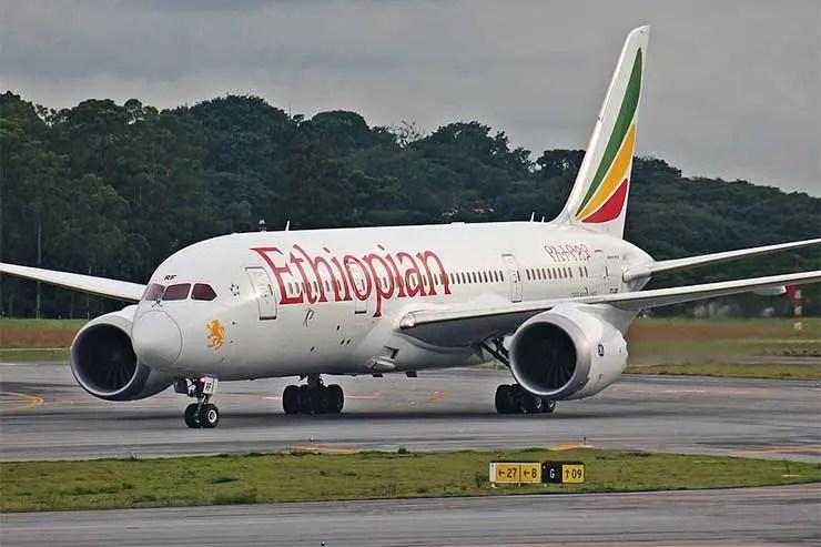 Boeing 787 da Ethiopian - Foto: Rafael Luiz Canossa [(CC BY-SA 2.0)]