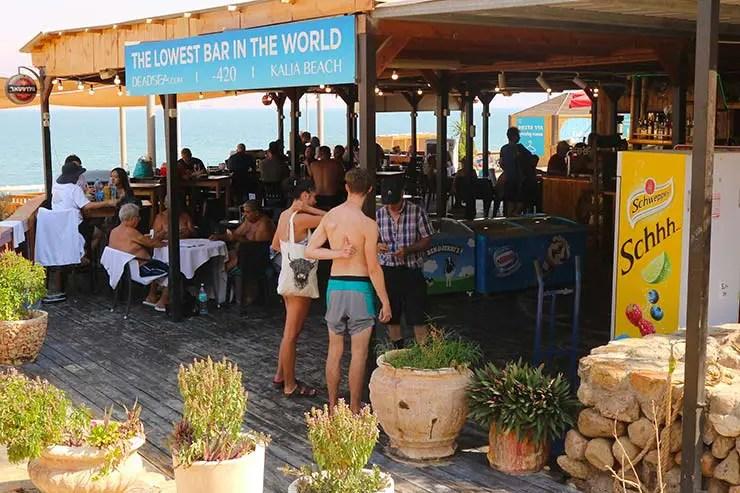 Bar na Kalia Beach (Foto: Esse Mundo é Nosso)