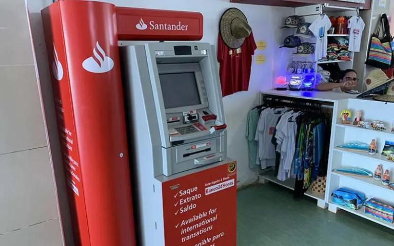 Banco em Fernando de Noronha - Caixa do Banco 24 Horas (Foto: Esse Mundo É Nosso)