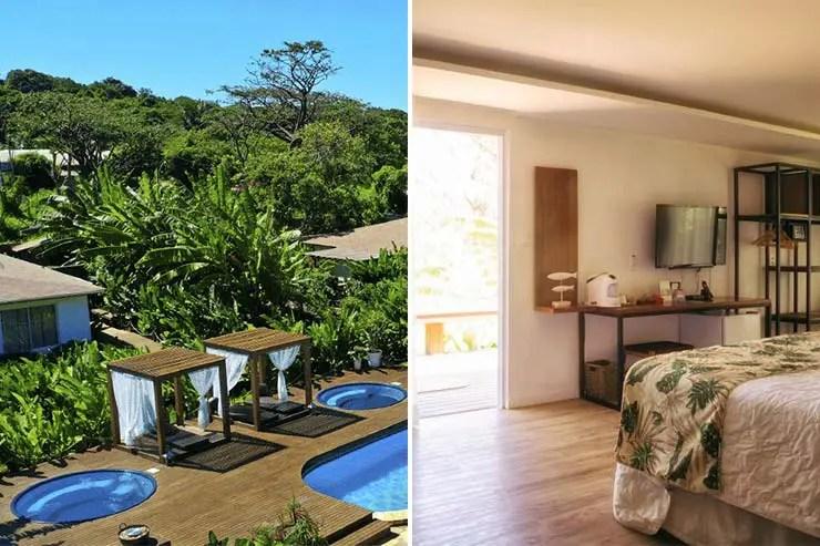 Dolphin Villa Hotel em Noronha (Fotos: Divulgação)