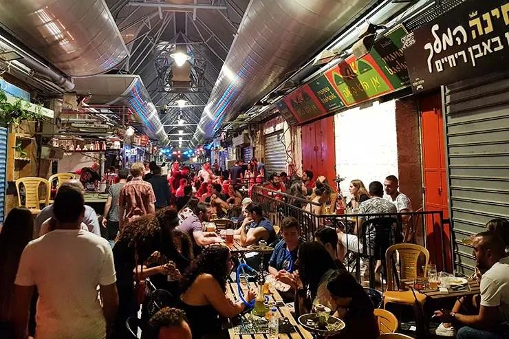 Noite no Mahane Yehuda Market - Mercado em Jerusalém (Foto: Esse Mundo É Nosso)