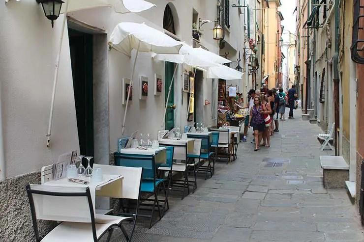 Via Capellini em Portovenere, Itália (Foto: Esse Mundo É Nosso)