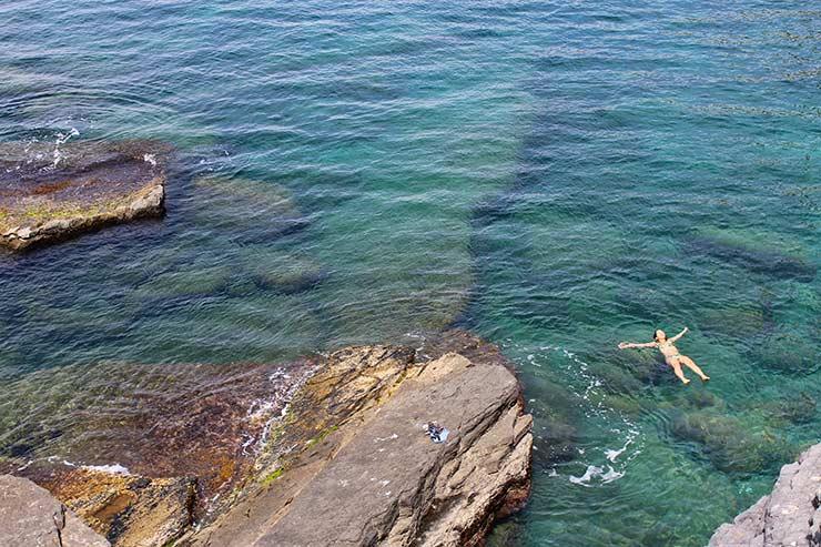 Gruta Byron em Portovenere (Foto: Esse Mundo É Nosso)