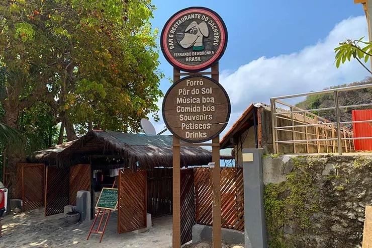 Bar do Cachorro em Fernando de Noronha (Foto: Esse Mundo É Nosso)