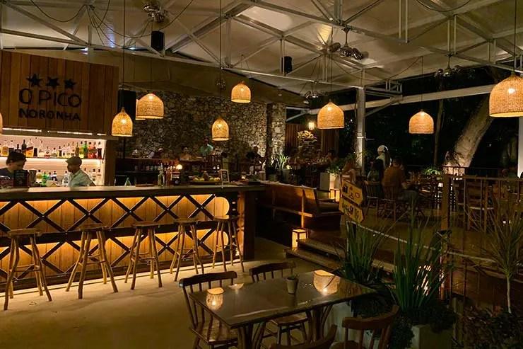 Restaurantes em Fernando de Noronha: O Pico (Foto: Esse Mundo é Nosso)