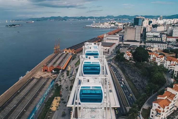 Roda-gigante do Rio: Rio Star (Foto: Divulgação)