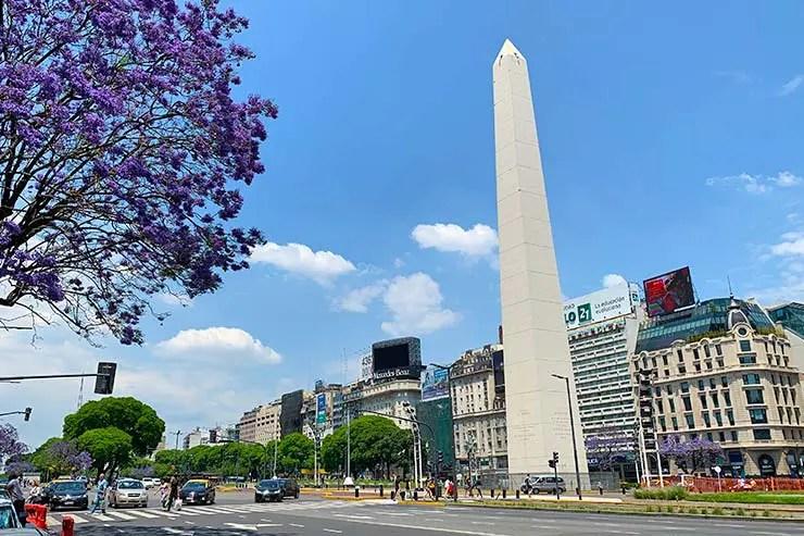 Dicas de Buenos Aires: Obelisco no centro (Foto: Esse Mundo é Nosso)
