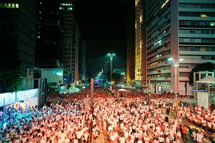 Réveillon na Paulista - Palco será no sentido Paraíso (Foto: Jose Cordeiro/ SPTuris)