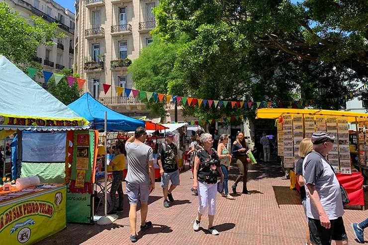 Quantos dias em Buenos Aires: Feira de San Telmo (Foto: Esse Mundo)
