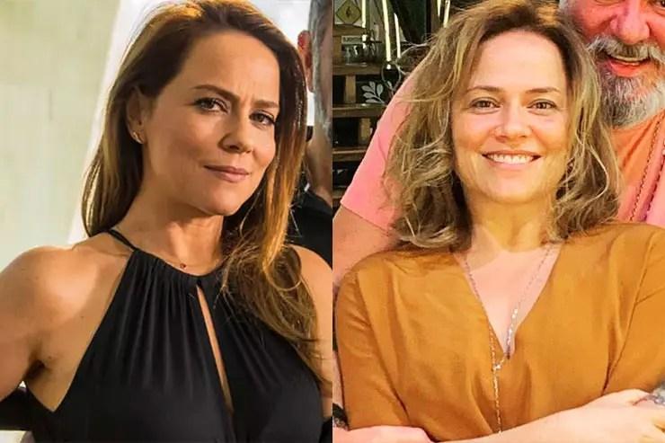 Que ano passou Totalmente Demais - Vivianne Pasmanter (Fotos: Renato Rocha MIranda/TV Globo e Instagram/Viviane Pasmanter)