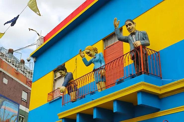 La Boca em Buenos Aires (Foto: Esse Mundo é Nosso)