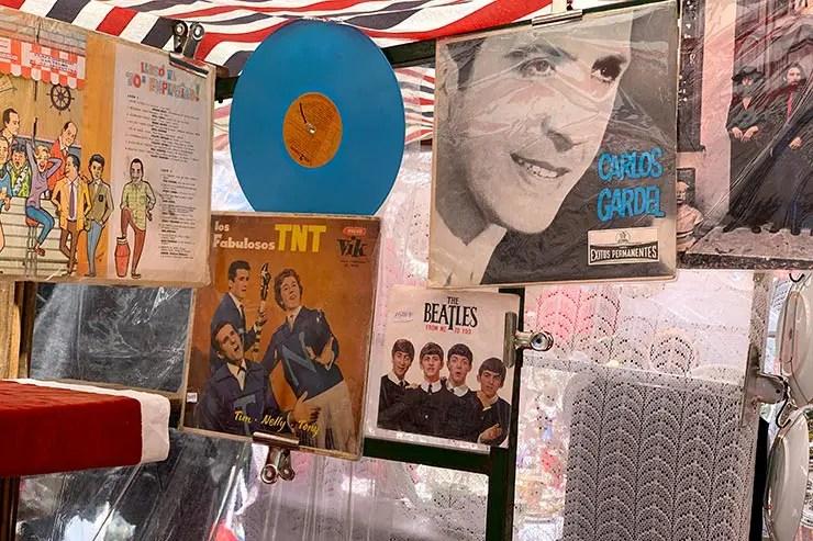 LP de Carlos Gardel em San Telmo (Foto: Esse Mundo é Nosso)