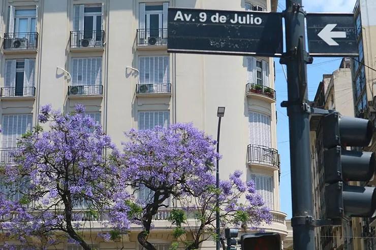 O que fazer em Buenos Aires: Av. 9 de Julio (Foto: Esse Mundo é Nosso)