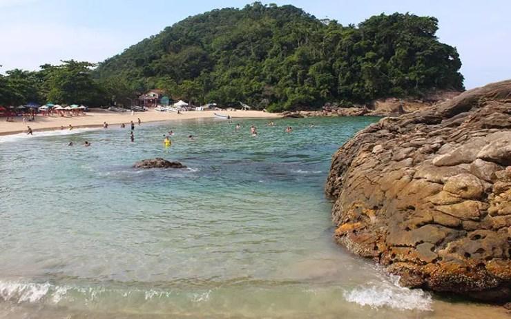 Praia do Meio em Trindade, RJ (Foto: Esse Mundo É Nosso)