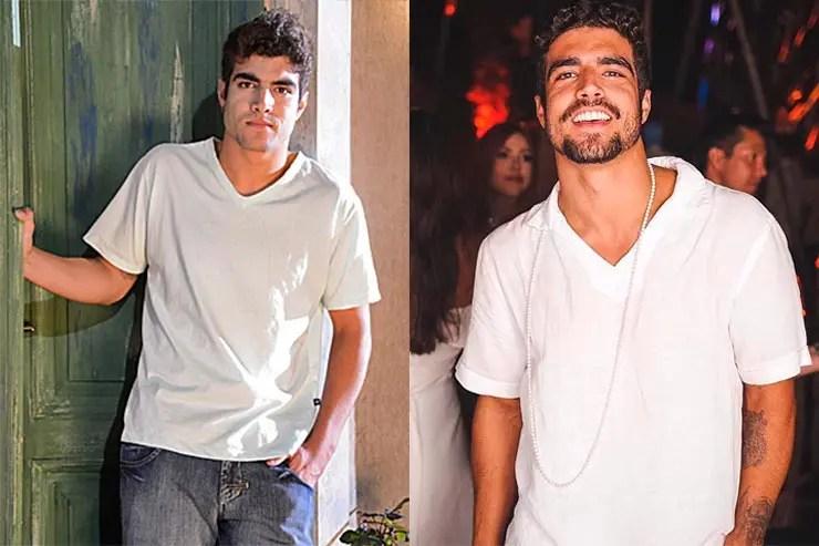 Caio Castro (Fotos: Divulgação/GShow e Instagram do Caio Castro)